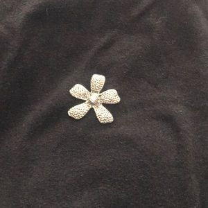 Silpada flower necklace pendant